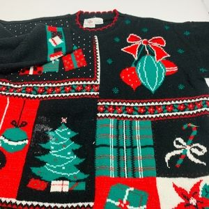 Nut Cracker Pullover Christmas Sweater Womens 2XL